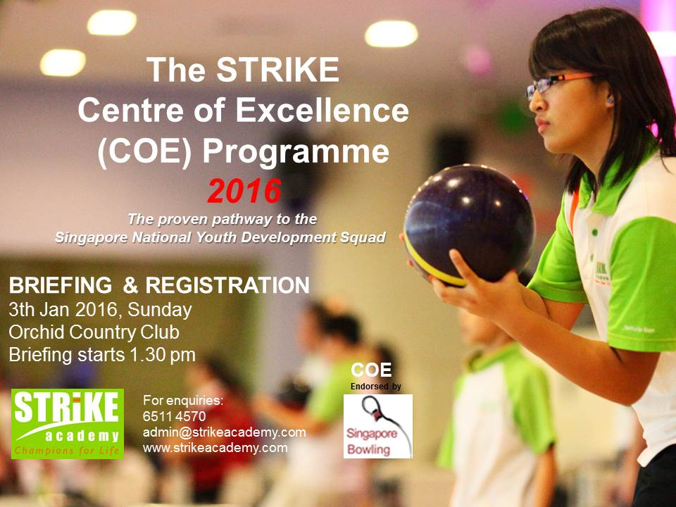 Centre of Excellence Bowling COE Programme